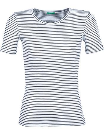67c9661b3d5c T-shirt με κοντά μανίκια Benetton FELINO