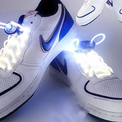 a0c40361a8b1 YWXLight 1 Pair 2W 80cm Glow Shoelaces LED Sport Shoe Laces Glow Stick  Flashing Neon Luminous