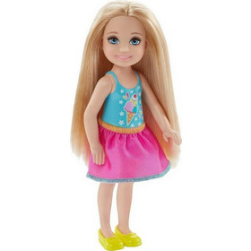 Mattel Barbie Club Chelsea Movie Night Dress Blonde Hair 0d67e9a3d88
