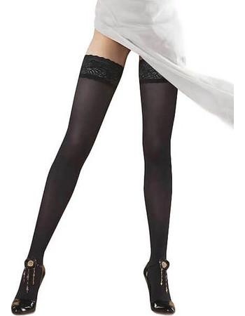 Omero ημιδιάφανες μαύρες κάλτσες με σιλικόνη 50 den κωδ.Iride 109942 2e81d520ae8