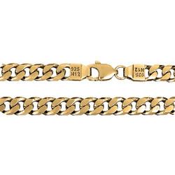 Αλυσίδα χειρός σε ασήμι 925 με χρύσωμα Κ18 CURMET ABR-LKR300G1 ca8e85c778a