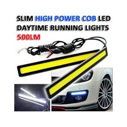 Φώτα Ημέρας Αυτοκινήτου Slim High Power 12W COB LED Daytime Running Lights ad6507693b6