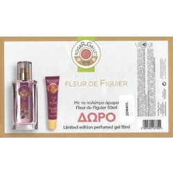 ROGER & GALLET FLEUR DE FIGUER EAU DE PARFUM 50ML & ΔΩΡΟ PERFUMED GEL CONCENTRATE 15ML