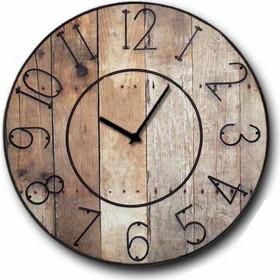 Ρολόι τοίχου Ξύλινο Χειροποίητο Gruntz 32 cm c1364c8b450