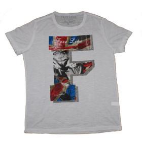 71e4d4b97ee8 T-Shirt Free Line Athens 334-414 σε λευκό χρώμα
