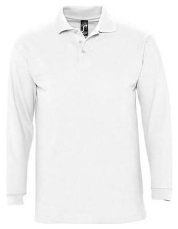 ... Ανδρικές Μπλούζες Polo Sol s. ανδρικα λευκα μακρυμανικα Sol s. Sol s  logo. Sol s Winter II 11353 Ανδρικό πόλο πικέ 210 γρ. - 100% βαμβάκι  Ringspun πενιέ 44f3e796914