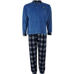 Αντρική πυζάμα βελουτέ καρώ παντελόνι.Timeless style. ΣΙΕΛ 5648be80e99