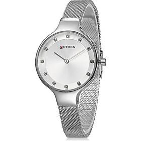 Γυναικείο Ρολόι CURREN C900BL Quartz Waterproof Female Luxury Dress Gold  Fashion Wrist Watch Silver 3944914f689