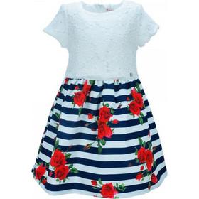 9a87a26cc32 Παιδικό Φόρεμα Εβίτα 186027 Λευκό Κορίτσι. Ebita
