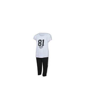 BODY TALK G SUPERGIRLS SET TSHIRT TIGHT 1181-703099 8aef3787fae
