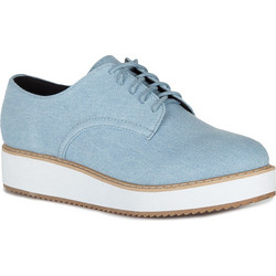 4c30366735 CANVAS FLATFORM OXFORDS 1840100234