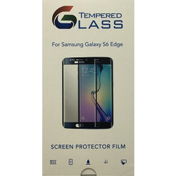 Tempered Glass Screen Protector / Προστατευτικό Γυαλί Οθόνης 9H 2.5D 0.3mm Premium HD Gold for Samsung Galaxy S6 Edge