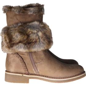 2f7703d8ee5 Γυναικείο μποτάκι gsecret με επένδυση γούνας , φερμουάρ και κρεπ σόλα ΠΟΥΡΟΥ
