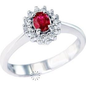 Δαχτυλίδι 18κ Με Ρουμπίνι Και Διαμάντια Muse Collection 7d050129d61