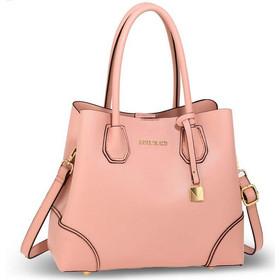 1547 AG Γυναικεία τσάντα ώμου χειρός AG00648 - Ρόζ απαλό 42a4009b8cd