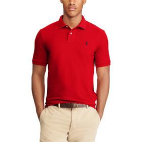 77b41aacb860 Polo Ralph Lauren ανδρική μπλούζα πόλο κόκκινη Custom Slim Fit Mesh Polo -  710666998003 - Κόκκινο