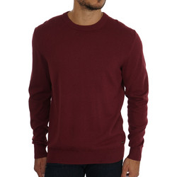 14a904d100d6 BOSS Regular fit Albonok Knitted sweater in lightweight virgin wool and  cotton 50392633