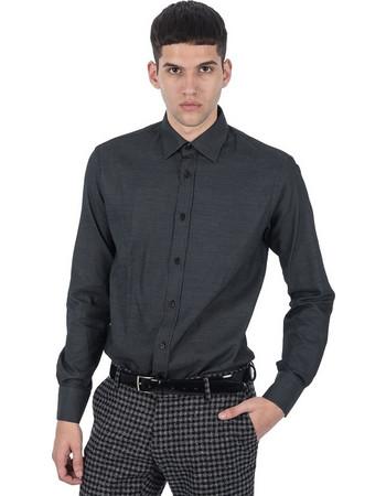 PAPILIO GARAMAS πουκάμισο PG-600 2634 μαύρο f7401658b6c