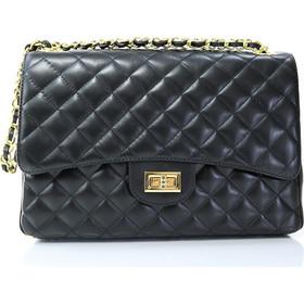 Passaggio Leather Bag Καπιτονέ Τσάντα Από Γνήσιο Δέρμα Handmade In Italy  (Jumbo Size) 0720b05c4fe