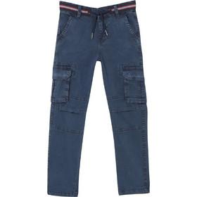 d6135e9f15f OVS παιδικό παντελόνι cargo μονόχρωμο - 000398523 - Μπλε Σκούρο