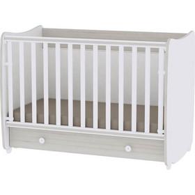 7d641508290 Βρεφικό κρεβάτι Lorelli Dream 60x120 μετατρεπόμενο White Light Oak
