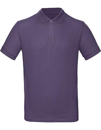 2b3dfe2d852e Ανδρικο Μπλουζακι Polο Inspire Organic B   C PM430 - Radiant Purple