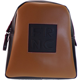 4665751f40 FRNC FRANCESCO Τσάντα Γυναικεία Πλάτης-Backpack 1202 Ταμπά Δέρμα 59166