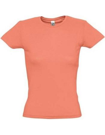 Sol s Miss 11386 Γυναικείο t-shirt Jersey 150 100% βαμβάκι 24 χρώματα -  CORAL 8f1e709941b