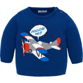 6139964a6c86 Βρεφική Μπλούζα Mayoral 18-02326-082 Μπλε Αγόρι