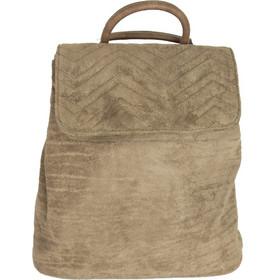 Γυναικείο πούρο καστόρινο Backpack με εξωτερικές ραφές 5305Q 67e32ce78b3