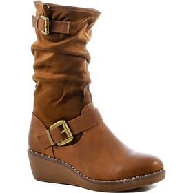 παπουτσια πλατφορμες - Γυναικεία Μποτάκια Flat  2b2c6b010c9