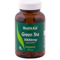 HealthAid Green Tea 1000mg 60s