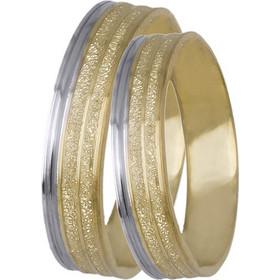 Πρωτότυπες βέρες γάμου BRS0647D BRS0647D Χρυσός 14 Καράτια μεμονωμένο  τεμάχιο 7b1772db545