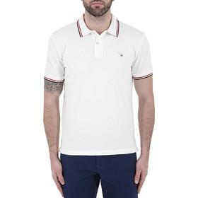 b0f10e8ce608 πολο ανδρικο ασπρη - Ανδρικές Μπλούζες Polo Gant