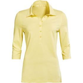 30e8c717fc33 Γυναικεία Πόλο Μπλούζα με κουμπιά Lady-Fit Polo και μανίκι 3 4 σε κίτρινο