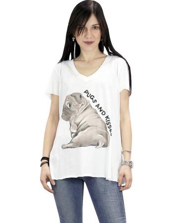 Lynne 141-510043 T-SHIRT Λευκό Lynne 15166ab3d6e
