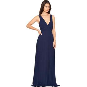 50fa369327b0 αέρινο βραδινό φόρεμα minimal pleat σε navy