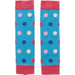 Βρεφικές κάλτσες   γκέτες μπλε πουά Picalilly 05a6299e7d2
