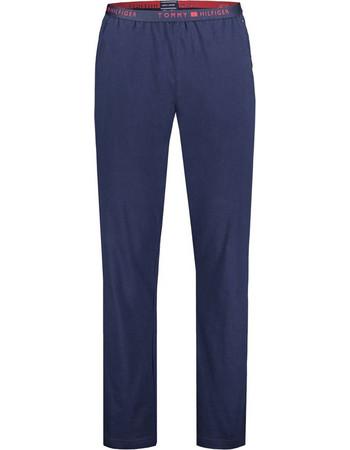 Tommy Hilfiger Ανδρικό Παντελόνι Πυτζάμας Logo Μπλε 7b55fad4252