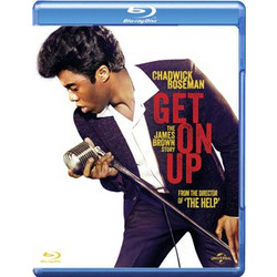 Get On Up Blue Ray Disc DVD