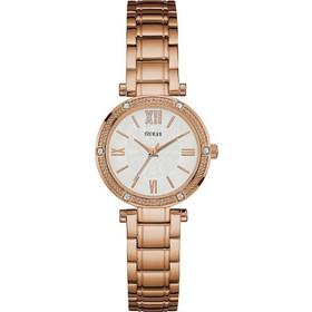 ροζ χρυσο μπρασελε guess - Γυναικεία Ρολόγια  5c91bea18d0