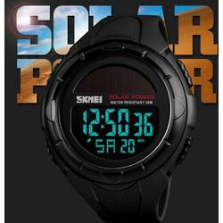 db0ae9903ec Αθλητικό ρολόι χειρός ηλιακής φόρτισης αδιάβροχο SKMEI 1405 BLACK