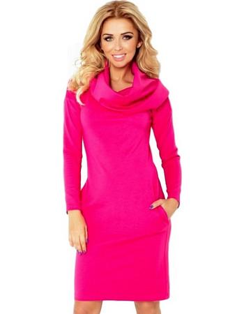 70049 NU Μίνι φόρεμα με φαρδύ λαιμό - φούξια 6a4729ee3b9