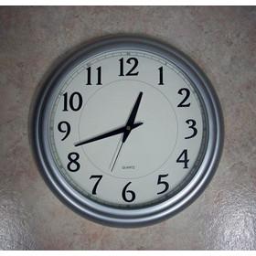 Ρολόι τοίχου μεγάλο γίγας για επαγγελματικούς χώρους διάμετρος 36 cm 3a77980ab72