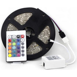 led strip 5 Μέτρα Tape Light with 24 key IR Remote Control (OEM)