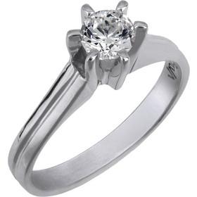 Swarovski λευκόχρυσο δαχτυλίδι Κ14 με ημιπολύτιμη πέτρα 025764 025764 Χρυσός  14 Καράτια 576011f5020