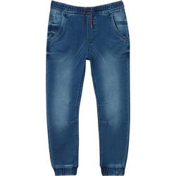 663c9b62f6e ΟVS παιδικό τζιν παντελόνι με λάστιχο στη μέση - 000384429 - Μπλε. OVS