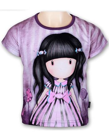 Παιδικό Μπλουζάκι Santoro Gorjuss Μοβ Χρώμα a04866400e6