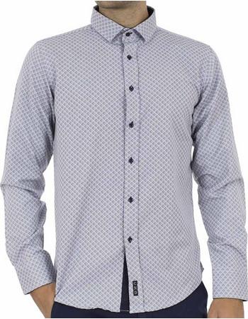 a46c1cd098b2 Ανδρικό Μακρυμάνικο Πουκάμισο CND Shirts 1650-2 Γκρι