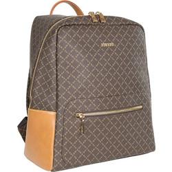 88dd47274e Σακίδιο Πλάτης La Tour Eiffel Logo-Δέρμα Backpack 171004 Καφέ-Ταμπά